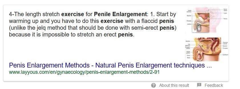 principii pentru mărirea penisului