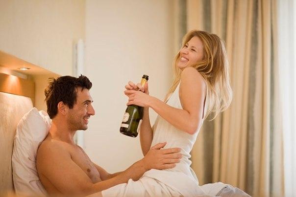 șampanie pentru o erecție)