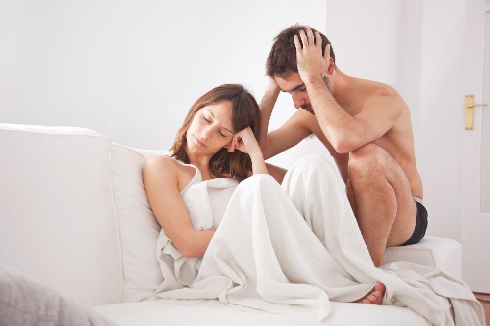 erecție slabă din cauza nervilor)