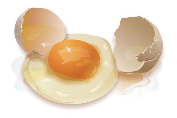 ouă crude pentru erecție