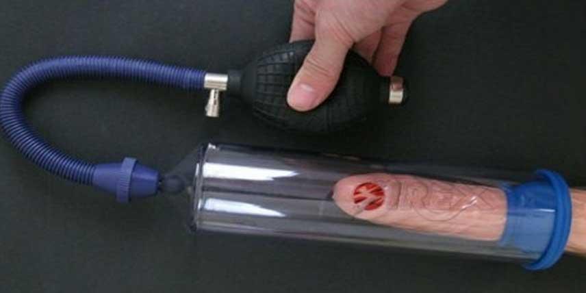 mărirea penisului prin pompă