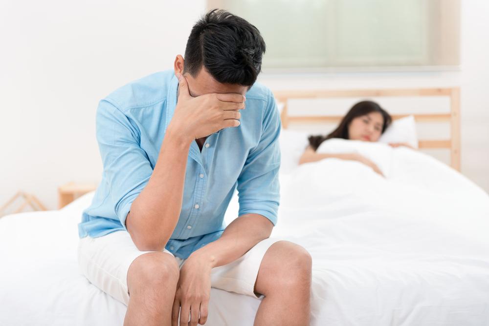 erecție mai puțin frecventă