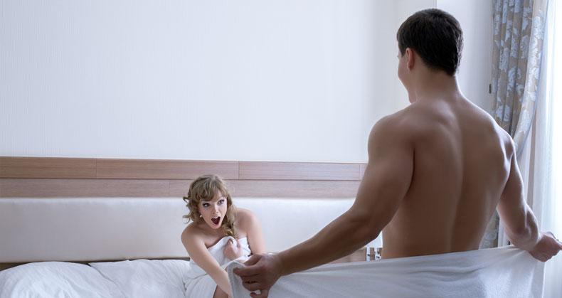 erecție slabă înainte de actul sexual)