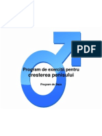 exerciții de erecție a penisului)