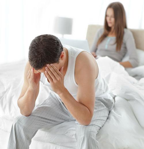 motivele încetării unei erecții în timpul actului sexual)