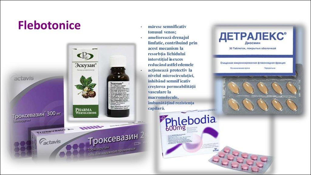 pregătirea pentru tratamentul varicosului phlebodia