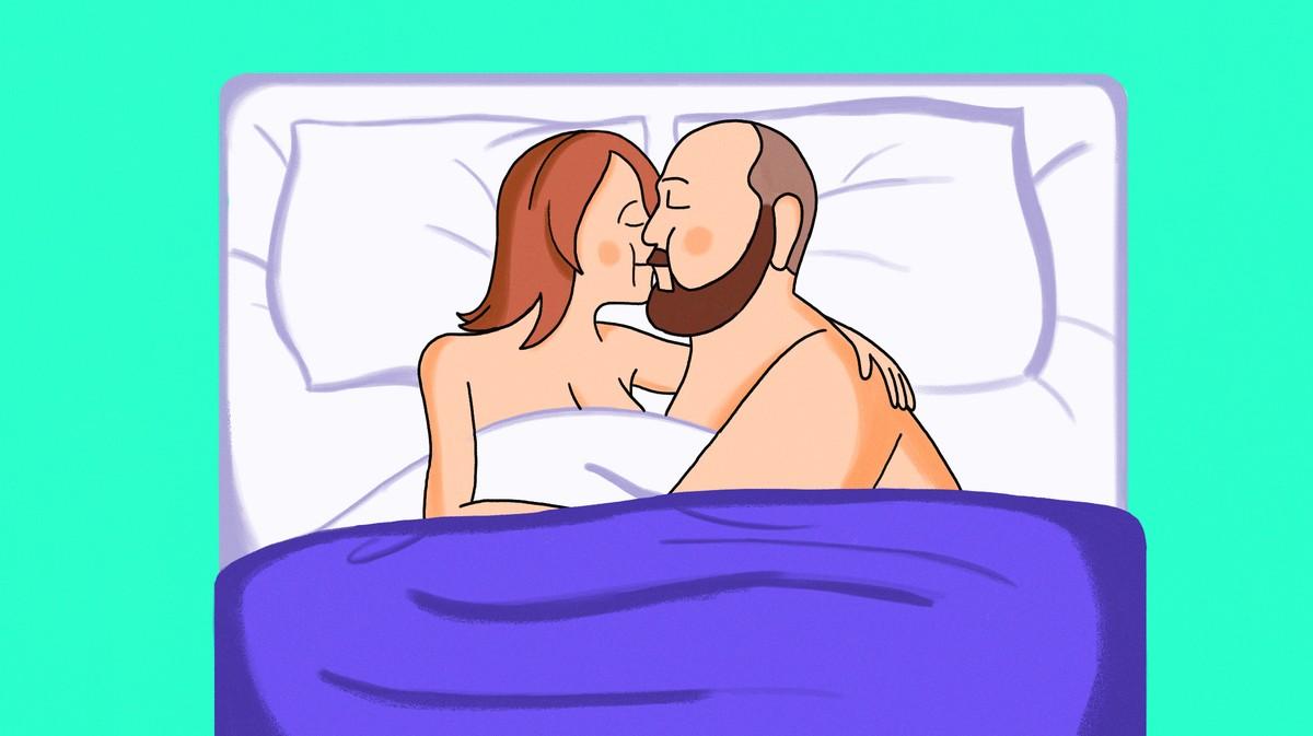 erecție cu un singur testicul)