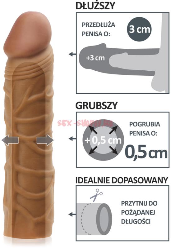 îngroșarea manșonului penisului